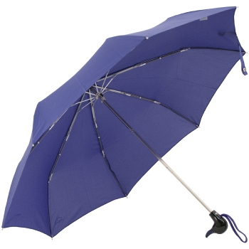 Duck Folding Umbrella by Rainbow of Milan - French Navy