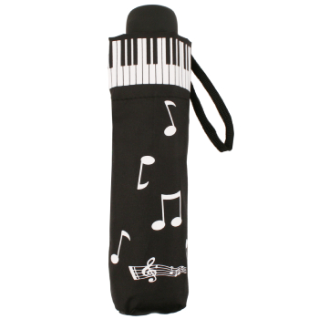 Piano Notes Folding Umbrella