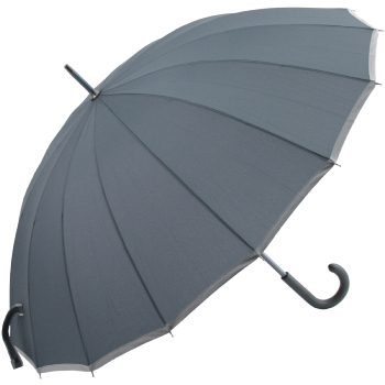 Sedici Fibreglass 16 Rib Umbrella - Slate Blue