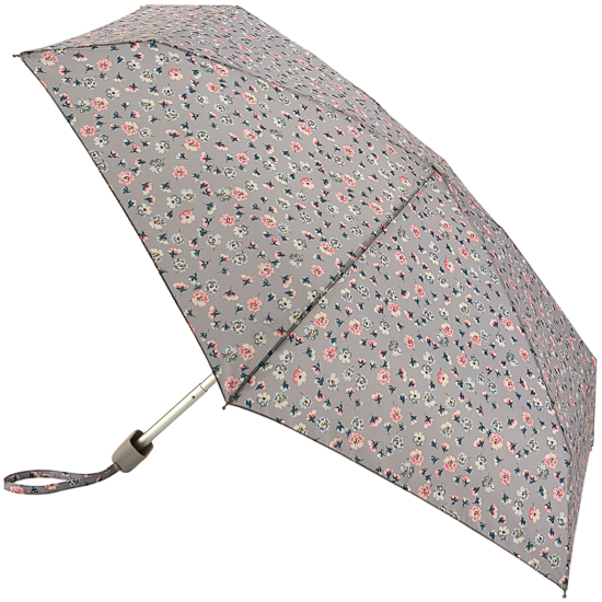 Cath Kidston Tiny Folding Umbrella - Alpine Ditsy Stone
