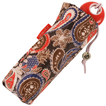 Paisley Folding Umbrella by Joy Heart - Red