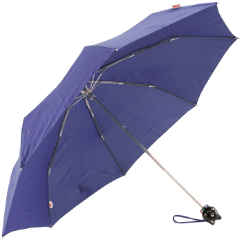 Cat Folding Umbrella by Rainbow of Milan - French Navy