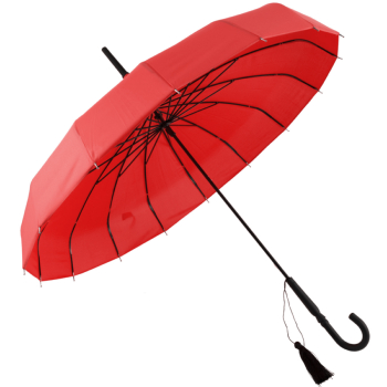 Soake Classic Edwardian Parasol - Red