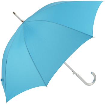 Colours - Plain Coloured Umbrella - Aqua