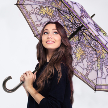 Ladies Long Art Umbrellas