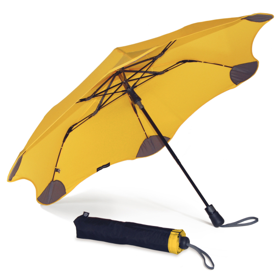 Blunt XS Metro Folding Umbrella - Yellow