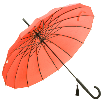 Classic Pagoda Umbrella from Soake - Coral