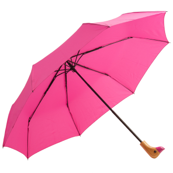 Susino Duck Folding Umbrella - Fuchsia
