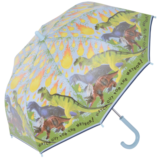 Dinosaurs & Meteors Children's Umbrella