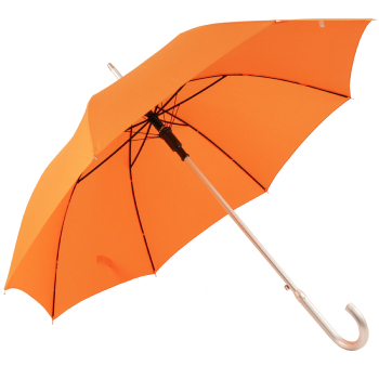 Ex Hire - Colours - Plain Coloured Umbrella - Orange