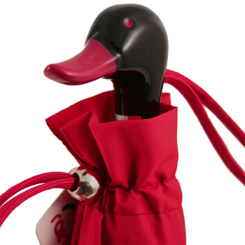 Duck Folding Umbrella by Rainbow of Milan - Wine