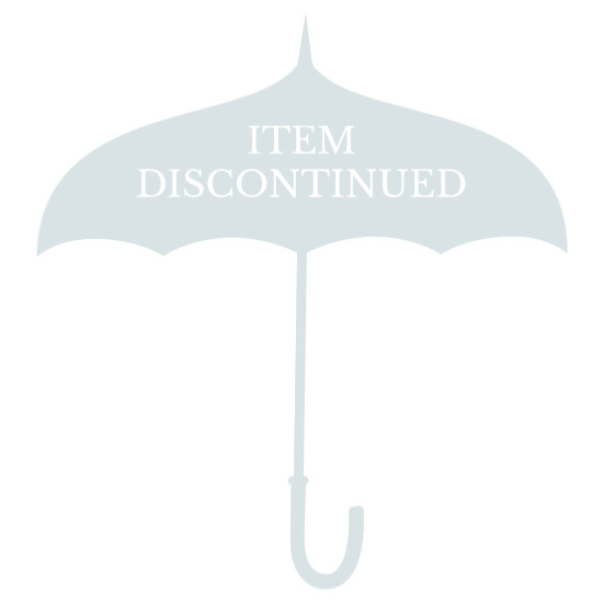 Bisetti Rainclouds Petite Clear Domed Umbrella - Indigo