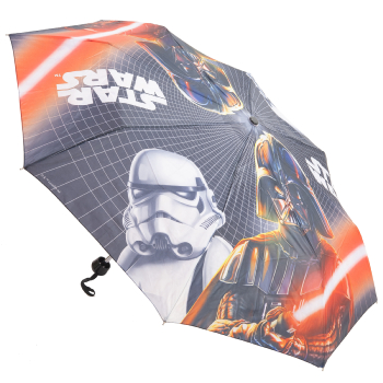 Star Wars Folding Umbrella - Darth Vader & Stormtrooper