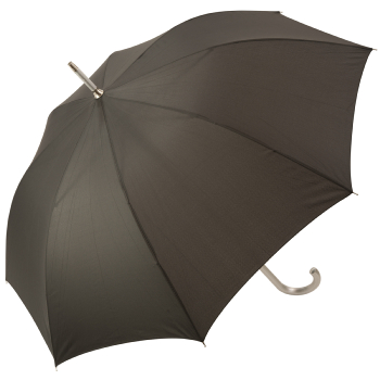 Colours - Plain Coloured Umbrella - Anthracite Grey