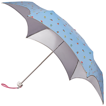 Fulton Parasoleil UVP 50+ Folding Umbrella - Spaced Ditsy