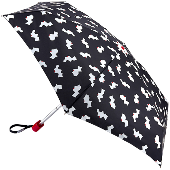 Lulu Guinness Tiny Folding Umbrella - Cameo Girls