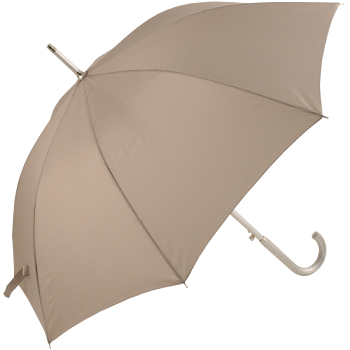 Colours - Plain Coloured Umbrella - Grey