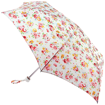 Cath Kidston Minilite Folding Umbrella - Wells Rose