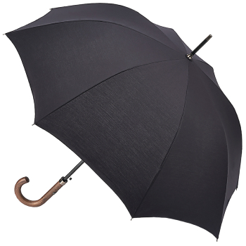 Fulton Mayfair - Classic Black Walking Length Umbrella