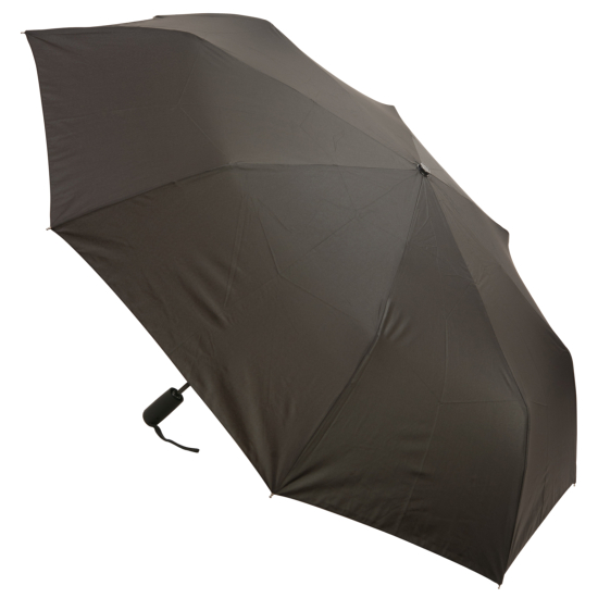Big Top Auto Open & Close Folding Windfighter Umbrella - Black