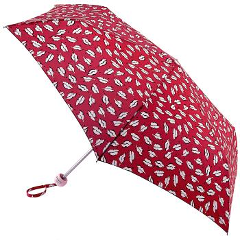 Lulu Guinness Minilite Folding Umbrella - Beauty Spot