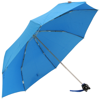 Cat Folding Umbrella by Rainbow of Milan - Blue