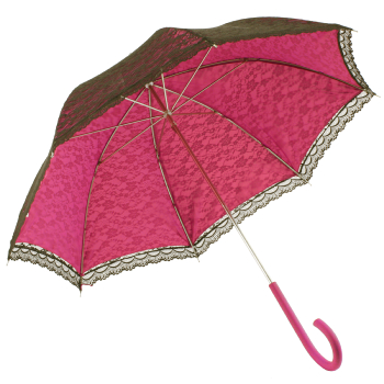 Romantica Lace Umbrella - Fuchsia