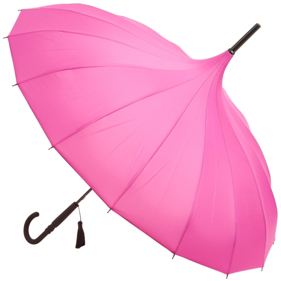 Classic Pagoda Umbrella from Soake - Fuchsia