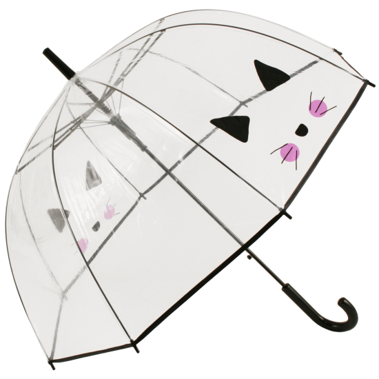 Clear See-through Dome Umbrella - Cat's Whiskers