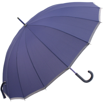 Sedici Fibreglass 16 Rib Umbrella - French Navy