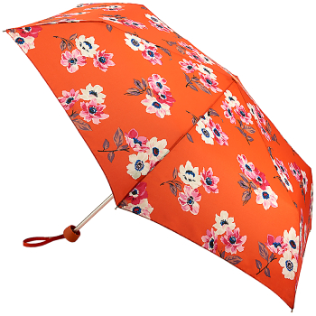 Cath Kidston Minilite Folding Umbrella - Anemone Bouquet