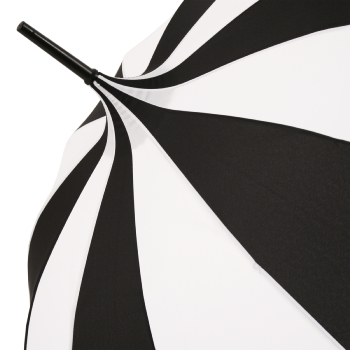 Harlequin Scalloped Pagoda Umbrella by Chrysalin