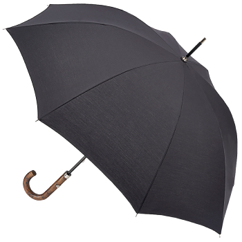 Fulton Hampstead - Classic Petite Black Walking Length Umbrella