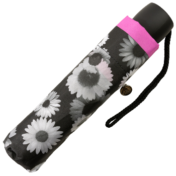 Fulton Minilite Folding Umbrella - Floral Photo