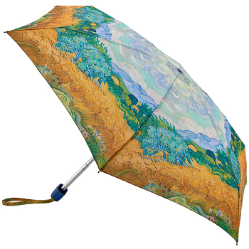 The National Gallery Tiny Umbrella - Wheatfield with Cypresses by Van Gogh