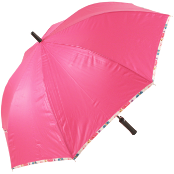 Floral Trim Slinger Umbrella by Cachemir - Pink
