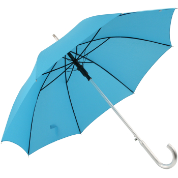 Ex Hire - Colours - Plain Coloured Umbrella - Aqua