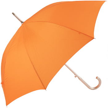 Colours - Plain Coloured Umbrella - Orange