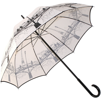 Pont des Arts Umbrella by Guy de Jean