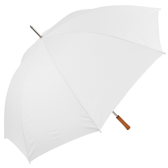 Ex Hire - Chauffeur Large Wedding Umbrella - White