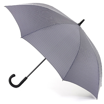 Fulton Knightsbridge Gents Umbrella - City Stripe Grey
