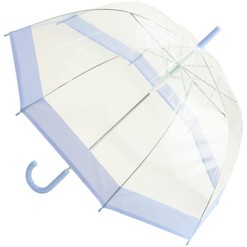 Susino Clear Dome Umbrella - Pastel Lilac