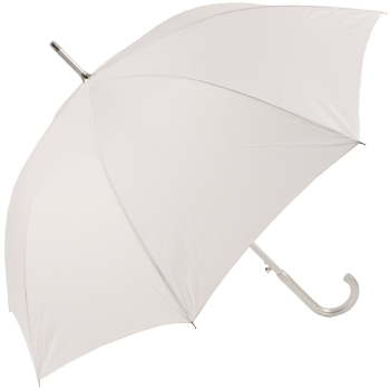 Colours - Plain Coloured Umbrella - White