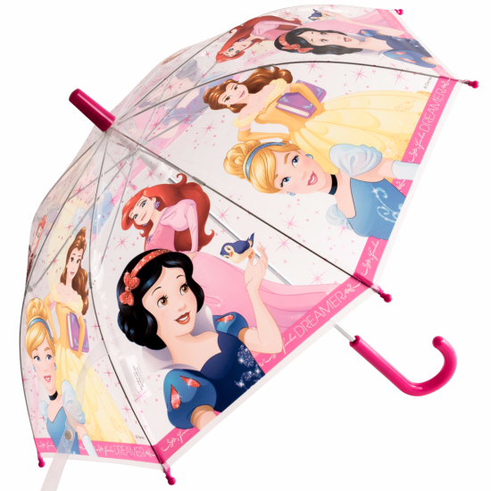 Disney Princess Children's See-Through Umbrella