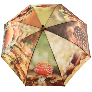 Autumn Harvest Large Canopy Umbrella