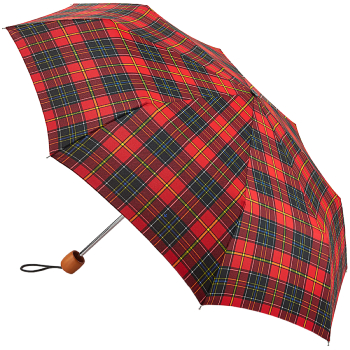 Fulton Stowaway Deluxe Manual Folding Umbrella - Royal Stewart