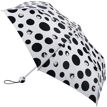 Lulu Guinness Superslim Umbrella - Polka Doll Face