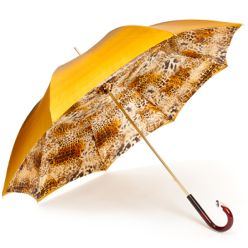 Glamour Gold Luxury Double Canopy Umbrella by Pasotti