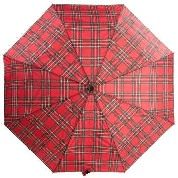 Tartan Mini Umbrella - Red (Royal Stewart)