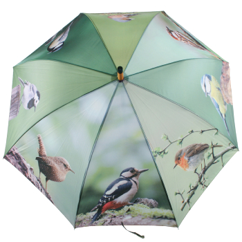 Large Garden Birds Umbrella
